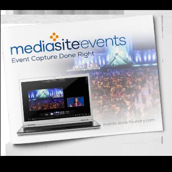 Mediasite Event Capture Brochure