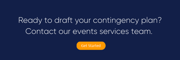 Create a contingency plan with Mediasite Events